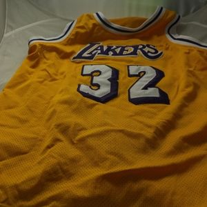 Lakers Magic Johnson Jersey Stitched #32 XL